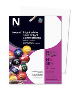 NEENAH® BRIGHT WHITE PREMIUM CARDSTOCK, 250 SHEETS