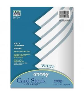 PACON® ARRAY® CARD STOCK, LASER&INKJET, 65lb, 100 SHEETS