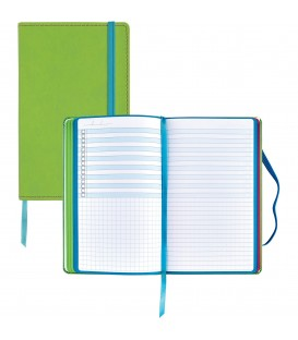 ASTROBRIGHTS® COLOR-POP™ LEATHERETTE JOURNAL BRIGHT GREEN COVER