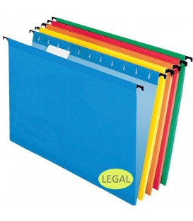 PENDAFLEX® SUREHOOK® REINFORCED HANGING FOLDERS, STANDARD COLORE