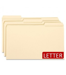 PENDAFLEX ESSENTIALS, FILE FOLDER, LETTER SIZE MANILA
