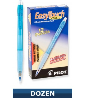PILOT® EASYTOUCH® MECHANICAL PENCIL, 0.5mm DIAMETER, BLUE BARREL