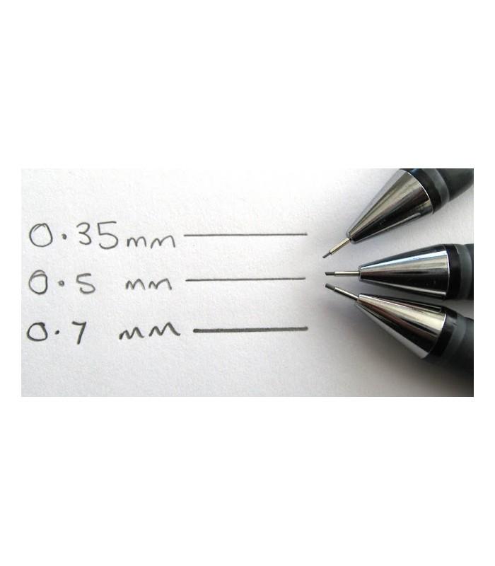Pilot Rexgrip 05 Mechanical Pencil Black Barrel 0.5mm lead