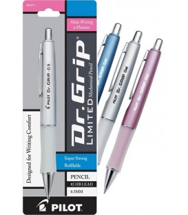 PILOT® Dr.GRIP® MECHANICAL PENCIL 0.5mm LEAD DIAMETER, ASSORTED BARREL