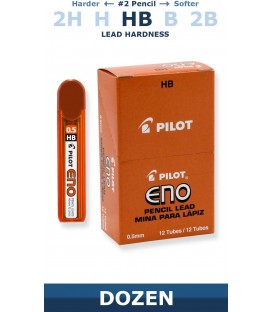 PILOT® ENO-G, PENCIL LEAD, 0.5mm DIAMETER