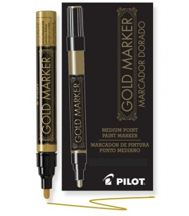 PILOT® CREATIVE PERMANENT, GOLD MARKER