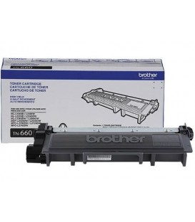 BROTHER® TN-660 HIGH-YIELD BLACK TONER CARTRIDGE