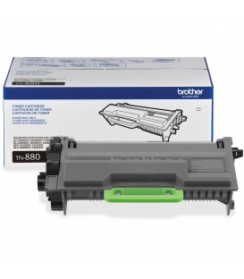 BROTHER® TN-880 SUPER HIGH-YIELD BLACK TONER CARTRIDGE