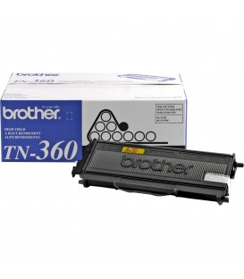 BROTHER® TN-360 HIGH-YIELD BLACK TONER CARTRIDGE
