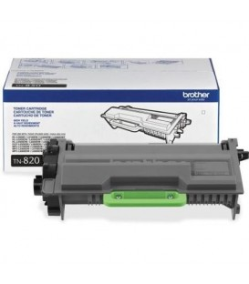 BROTHER® TN-820 BLACK TONER CARTRIDGE