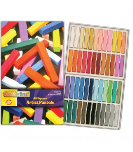 CREATIVITY STREET® SQUARE ARTIST PASTELS, COLORS 48 PACK