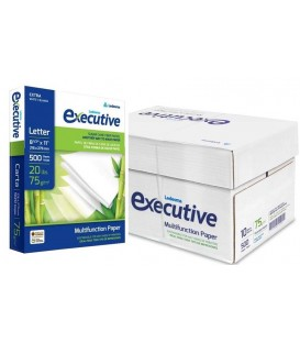 "EXECUTIVE™ COPY PAPER LEDESMA® WHITE PAPEL, 8,5"" X 11"", PROFESSIONAL 96% BRIGHTNESS"