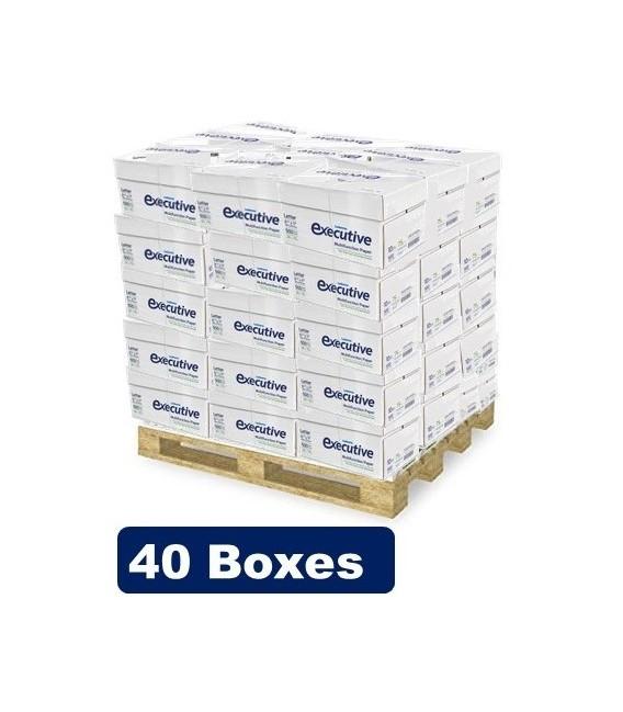 "EXECUTIVE™ COPY PAPER LEDESMA® WHITE PAPEL, 8,5"" X 11"", PROFESSIONAL 96% BRIGHTNESS"