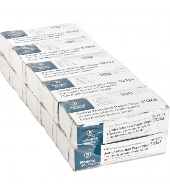 BUSINESS SOURCE® JUMBO PAPER CLIPS