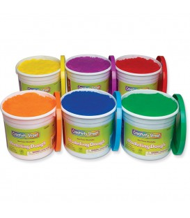 CREATIVITY STREET® MODELING DOUGH, 6 PACK