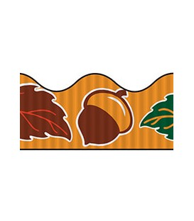 PACON® BORDETTE® DECORATIVE BORDER AUTUMNLEAVES
