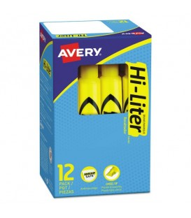 AVERY® DESK STYLE HIGHLIGHTERS YELLOW