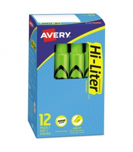 AVERY® DESK STYLE HIGHLIGHTERS GREEN