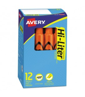 AVERY® DESK STYLE HIGHLIGHTERS ORANGE
