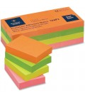 """BUSINESS SOURCE® ADHESIVE NOTES NEON 1.50"""" X 2"""""""