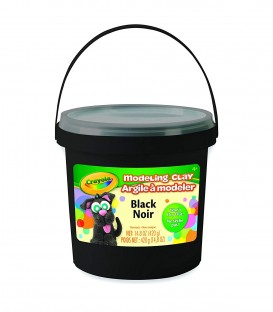 CRAYOLA® MODELING CLAY BLACK, 14,8 oz.