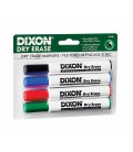 DIXON® DRY ERASE WHITEBOARD MARKER, ASSORTED
