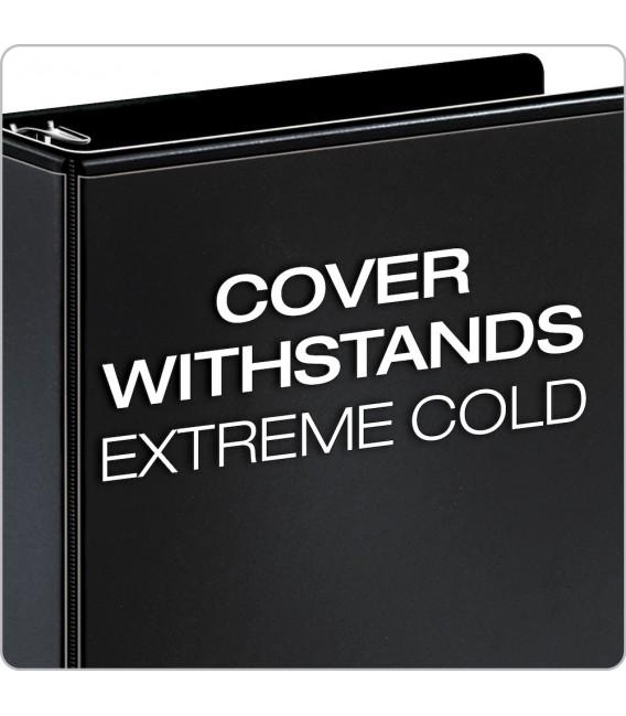 """CARDINAL® XTRALIFE™ CLEARVUE™ BINDERS, 6"""" BLACK"""
