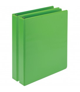 SAMSILL® EARTH'S CHOICE FASHION COLOR VIEW BINDERS, GREEN 1""