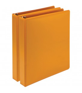 SAMSILL® EARTH'S CHOICE FASHION COLOR VIEW BINDERS, CORAL 1""