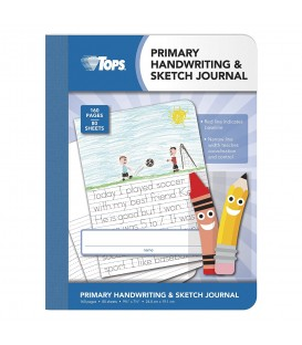 TOPS® PRIMARY HANDWRITING & SKETCH JOURNAL, 80 SHEETS