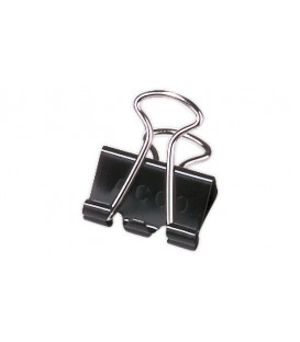 "ACCO® BINDER CLIPS BLACK MINI 1/4"", 12/PACK"