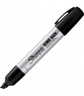 SHARPIE® PERMANENT MARKER, KING-SITE, CHISEL POINT STYLE
