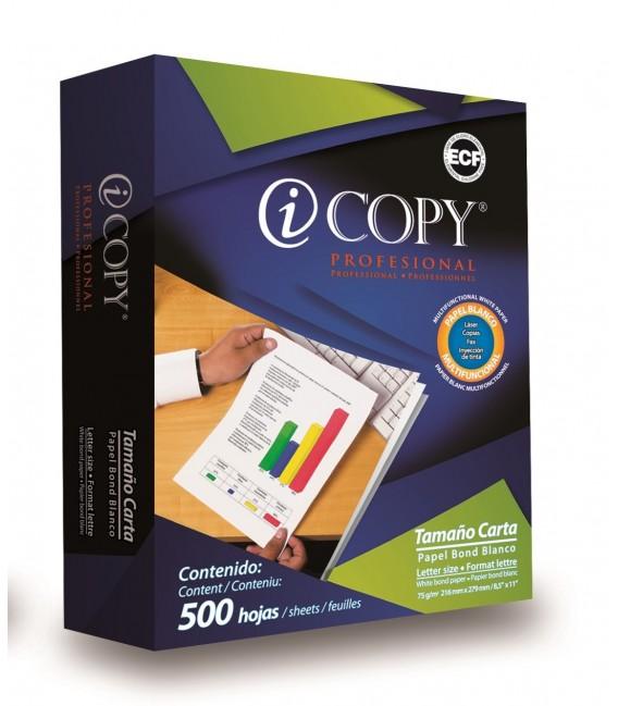 "ICOPY™ MULTIFUNCTIONAL WHITE PAPEL, 8,5"" X 11"", PROFESSIONAL, CASE"