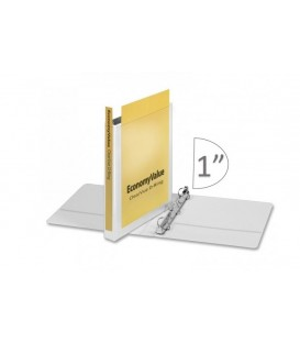 "CARDINAL® ECONOMYVALUE™ CLEARVUE™ BINDER, 1"" WHITE"