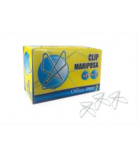 OFFICE® IDEAL PAPER CLAMP, SIZE N.2 LARGE, 50/BOX