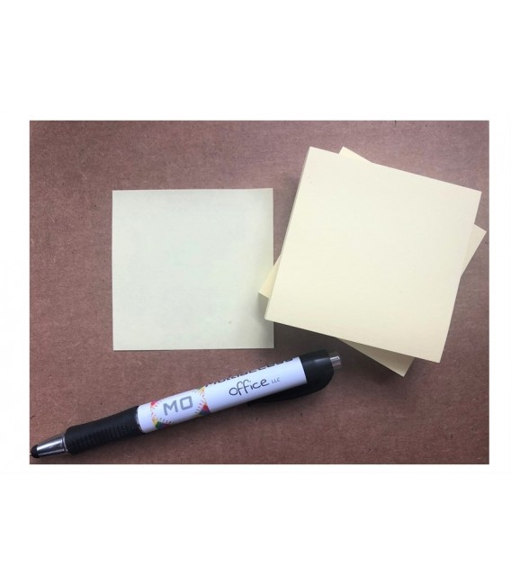 """POST-IT® NOTES, 3"""" x 3"""", CANARY YELLOW, 12 PADS/PACK"""