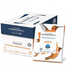 """HAMMERMILL® FORE® PREMIUM MULTI™  8 1/2"""" X 11"""", 97% BRIGHT, CASE"""