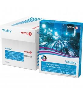 "XEROX® VITALITY™ INKJET PRINT COPY & MULTIPURPOSE PAPER, 8 1/2"" X 11"", CASE"
