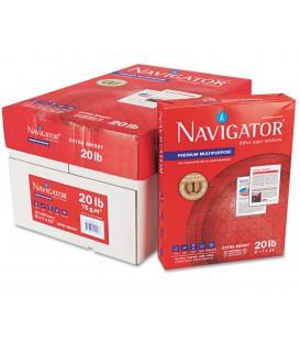 """NAVIGATOR® PREMIUM MULTIPURPOSE™ PAPER, 8 1/2"""" X 11"""", 97% BRIGHT, CASE"""