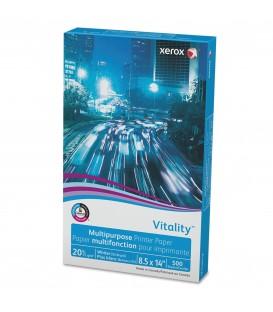 "XEROX® VITALITY™ INKJET PRINT COPY & MULTIPURPOSE PAPER, 8 1/2"" X 14"", REAM"