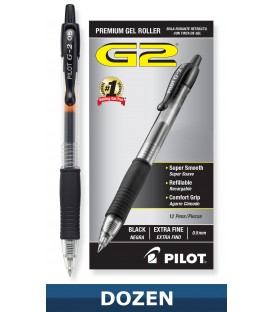 G2 PREMIUM RETRACTABLE GEL INK ROLLING BALL BLACK