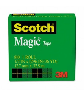 "SCOTCH® MAGIC™ TAPE, 1/2"" x 1,296"", 1 PACK"