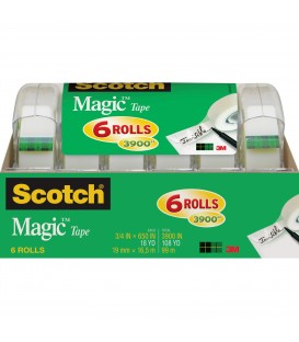 "SCOTCH® MAGIC™ TAPE, 3/4"" x 850"", 6 DISPENSER/PACK"