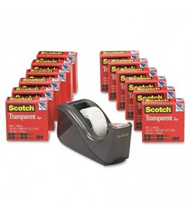 SCOTCH® TRANSPARENT TAPE AND SCOTCH® AND DISPENSER