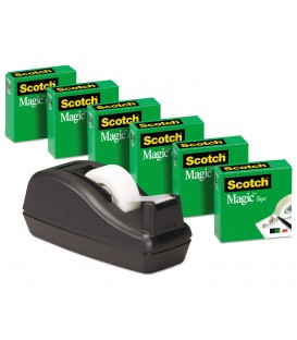 SCOTCH® TRANSPARENT TAPE AND SCOTCH® AND 1 DISPENSER C40