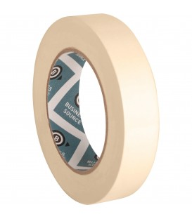 """BUSINESS SOURCE® MASKING TAPE,1"""" X 60 YD, 1 ROLL"""