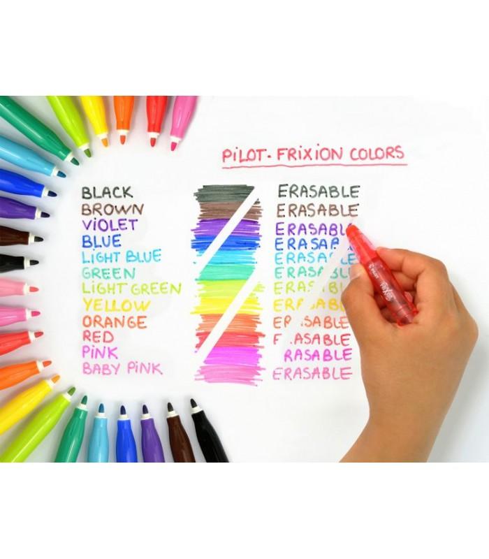 Pilot Frixion Colors Erase Marker Pen 12