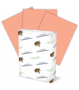 HAMMERMILL® SUPER-PREMIUM PAPER, SALMON COLOR, 500 SHEETS/REAM