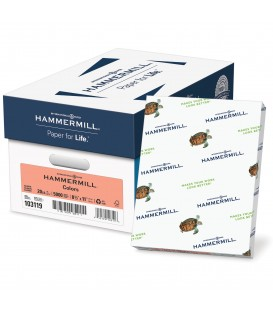 HAMMERMILL® SUPER-PREMIUM PAPER, SALMON COLOR, 5000 SHEETS/CASE