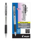 PILOT® EASYTOUCH® RETRACTABLE BALL POINT BLACK